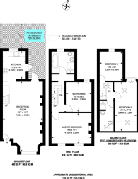 Large floorplan for Ayrsome Road, Stoke Newington, N16