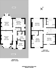 Large floorplan for Ickenham Road, Ruislip, HA4