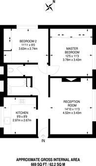 Large floorplan for Sheperdess Walk, Old Street, N1