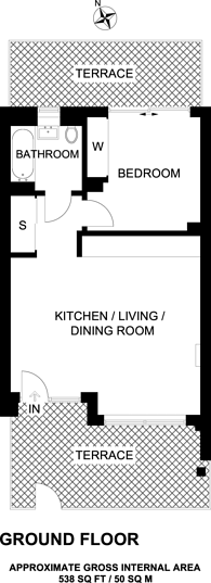 Large floorplan for Newington House, Colindale, NW9