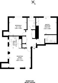Large floorplan for Richmond Hill, Richmond, TW10