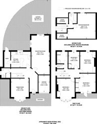 Large floorplan for Aberdeen Park, Highbury and Islington, N5