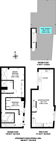 Large floorplan for Upper Street, Islington, N1