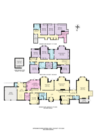 Large floorplan for Danes Hill, Hockering, GU22