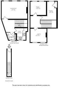 Large floorplan for Brockley Rise, Honor Oak Park, SE23