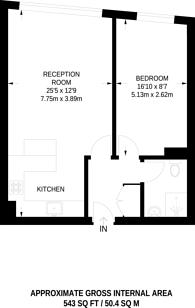 Large floorplan for The Bronze Apartments, Harrow, HA1