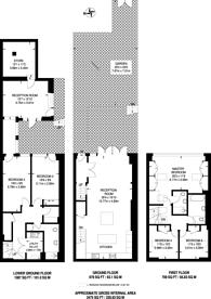 Large floorplan for Hemingford Road, Barnsbury, N1