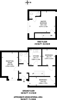 Large floorplan for Romford Road, Manor Park, E12