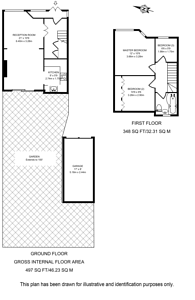 Large floorplan for Windsor Road, Harrow Weald, HA3