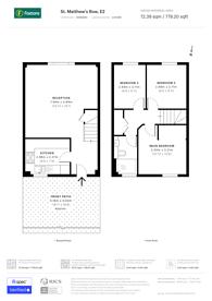 Large floorplan for St Matthews Row, Shoreditch, E2