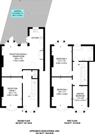 Large floorplan for Carver Road, Herne Hill, SE24