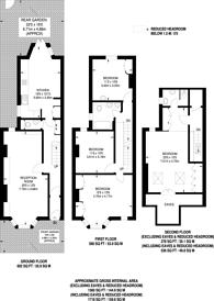 Large floorplan for Church Path, Chiswick, W4