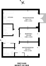 Large floorplan for Station View, Guildford, GU1