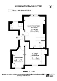 Large floorplan for Clarendon Road, Holland Park, W11