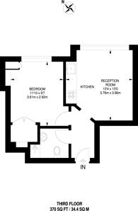 Large floorplan for Jeffreys Road, Stockwell, SW4