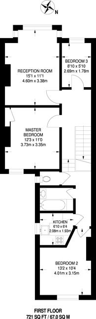 Large floorplan for Wolseley Road, Harrow Weald, HA3