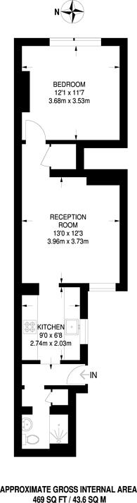 Large floorplan for Springfield Road, Guildford, GU1