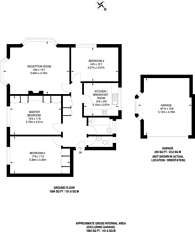 Large floorplan for Mays Hill Road, Bromley, BR2