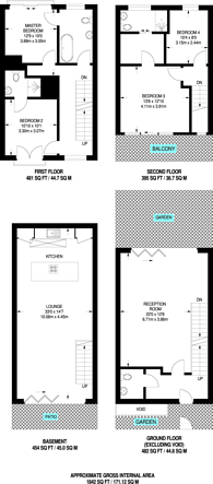 Large floorplan for Camden Town, Camden Town, NW1