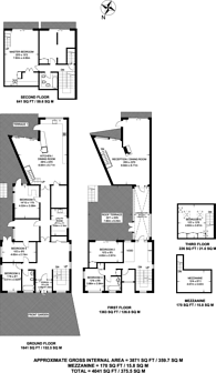 Large floorplan for Ferry Street, Canary Wharf, E14