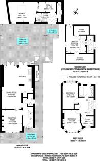 Large floorplan for Sandpits Road, Petersham, TW10