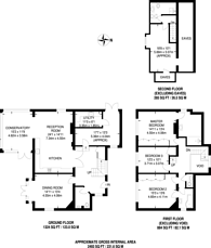 Large floorplan for Wych Hill Lane, Woking, GU22