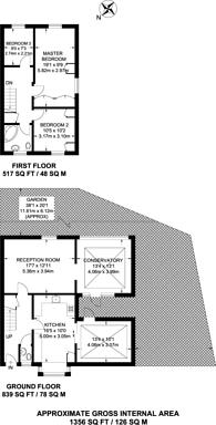 Large floorplan for Drovers Place, Peckham, SE15