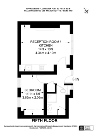 Large floorplan for Page Street, Westminster, SW1P