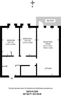 Large floorplan for Durnsford Road, Wimbledon, SW19