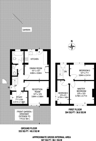 Large floorplan for Palmer Road, Plaistow, E13