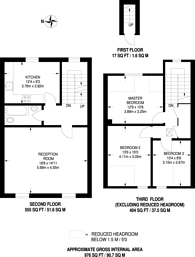 Large floorplan for Petherton Road, Islington, N5