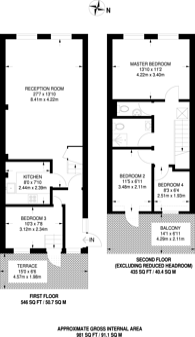 Large floorplan for Camden High Street, Camden Town, NW1