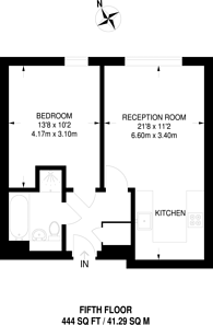 Large floorplan for Hallsville Road, Canning Town, E16