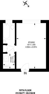 Large floorplan for Shepherds Bush Green, Shepherd's Bush, W12