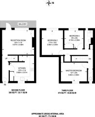 Large floorplan for Ritson House, Islington, N1