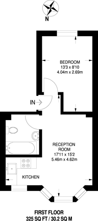 Large floorplan for Millfields Road, Hackney, E5