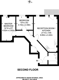 Large floorplan for Shared Ownership, Vauxhall, SW8