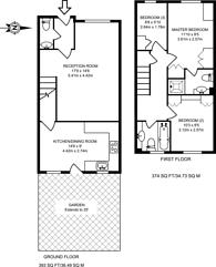 Large floorplan for Milligan Street, Limehouse, E14