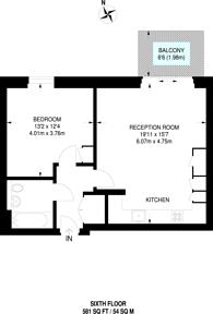 Large floorplan for Mirabelle Gardens, Stratford, E20