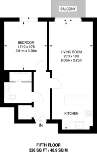 Large floorplan for Beaufort Square, Colindale, NW9