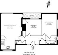 Large floorplan for Dora Street, Poplar, E14