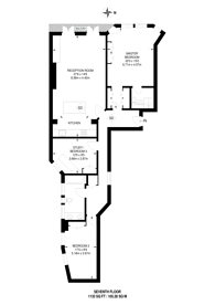 Large floorplan for Thirleby Road, Westminster, SW1P