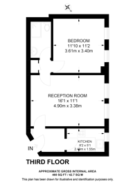 Large floorplan for Park West, Hyde Park Estate, W2