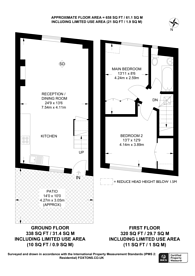 Large floorplan for Fulham Road, Chelsea, SW10