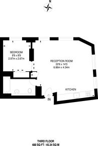 Large floorplan for Haymarket, St James's, SW1Y