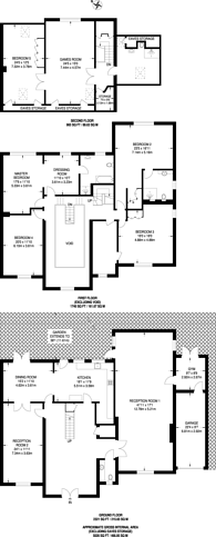 Large floorplan for Thornton Grove, Hatch End, HA5