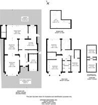Large floorplan for Keswick Avenue, Kingston Vale, SW15