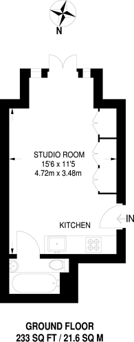 Large floorplan for West Hill, West Hill, SW18