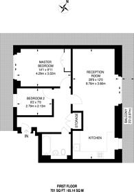 Large floorplan for Cam Road, Stratford, E15