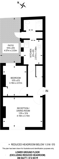 Large floorplan for Ranston St, Lisson Grove, NW1